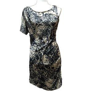 ASOS | Printed Zip Side Dress | 14